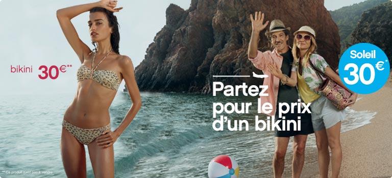 Transavia : Le soleil pour le prix d'un bikini
