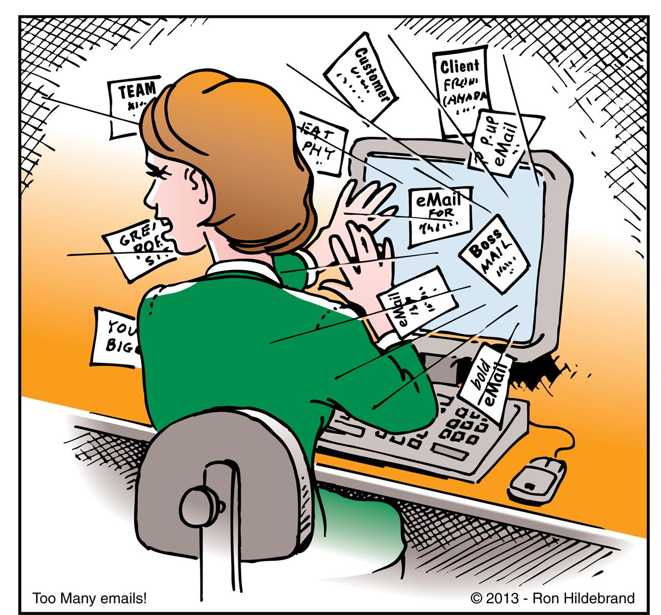 Soldes : le bal des emails