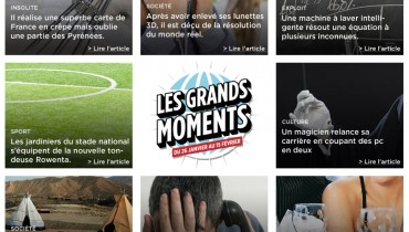 Les grands moments © Boulanger.fr