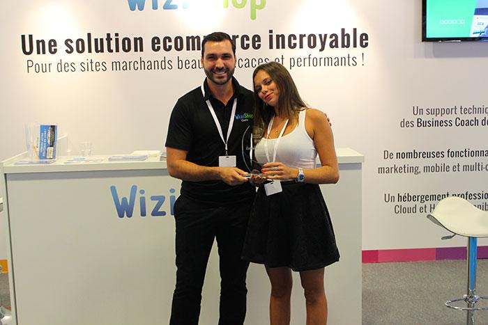 Trophée Incroyable e-commerçant 2014 © WiziShop