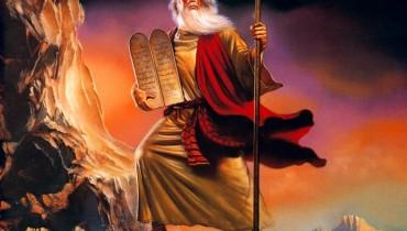 Moïse - Original painting by Boris Vallejo