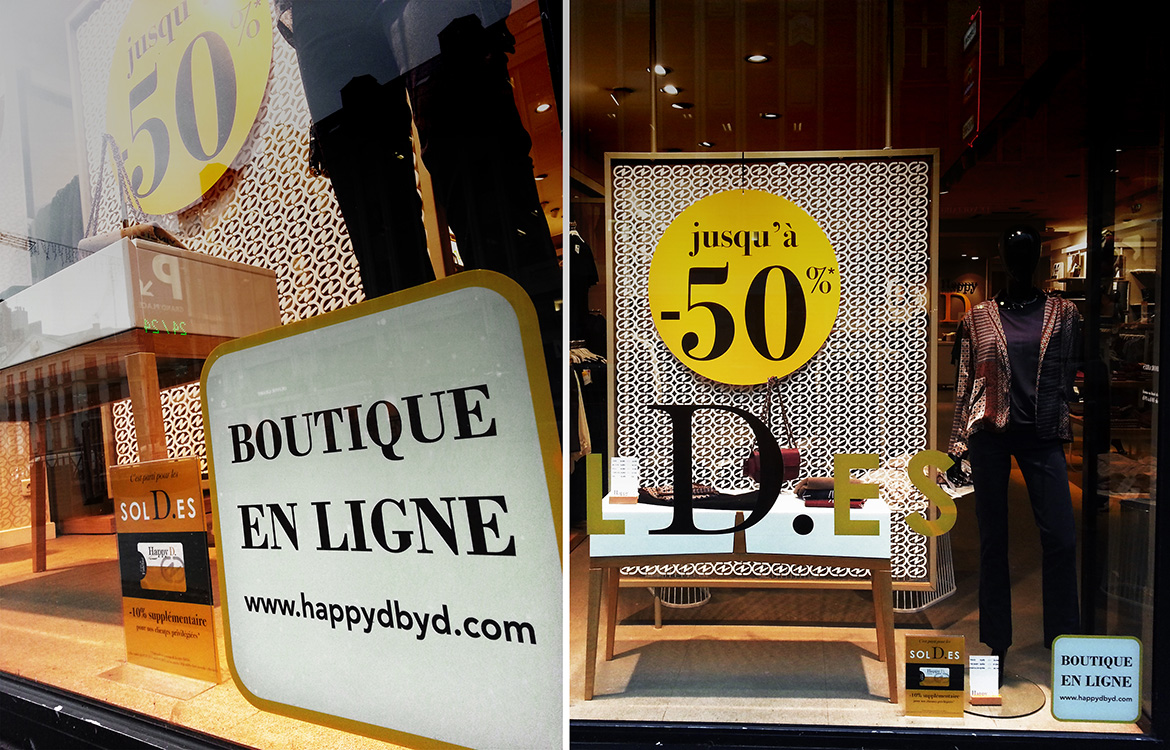 De la boutique… au web !