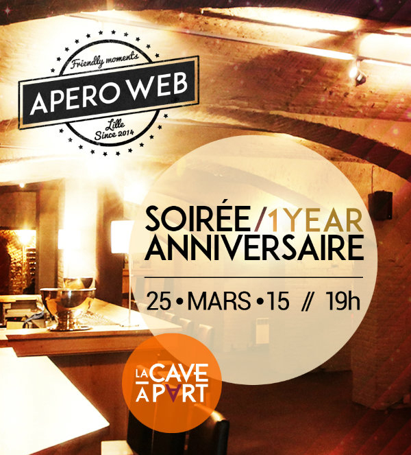 Apéro Web Lille – 25 mars